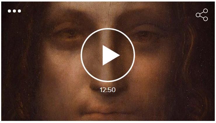 El 'Salvator Mundi' de Leonardo. 450 milions de dòlars