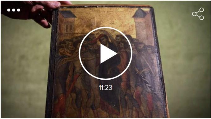Aparició d'un quadre de Cimabue a una cuina