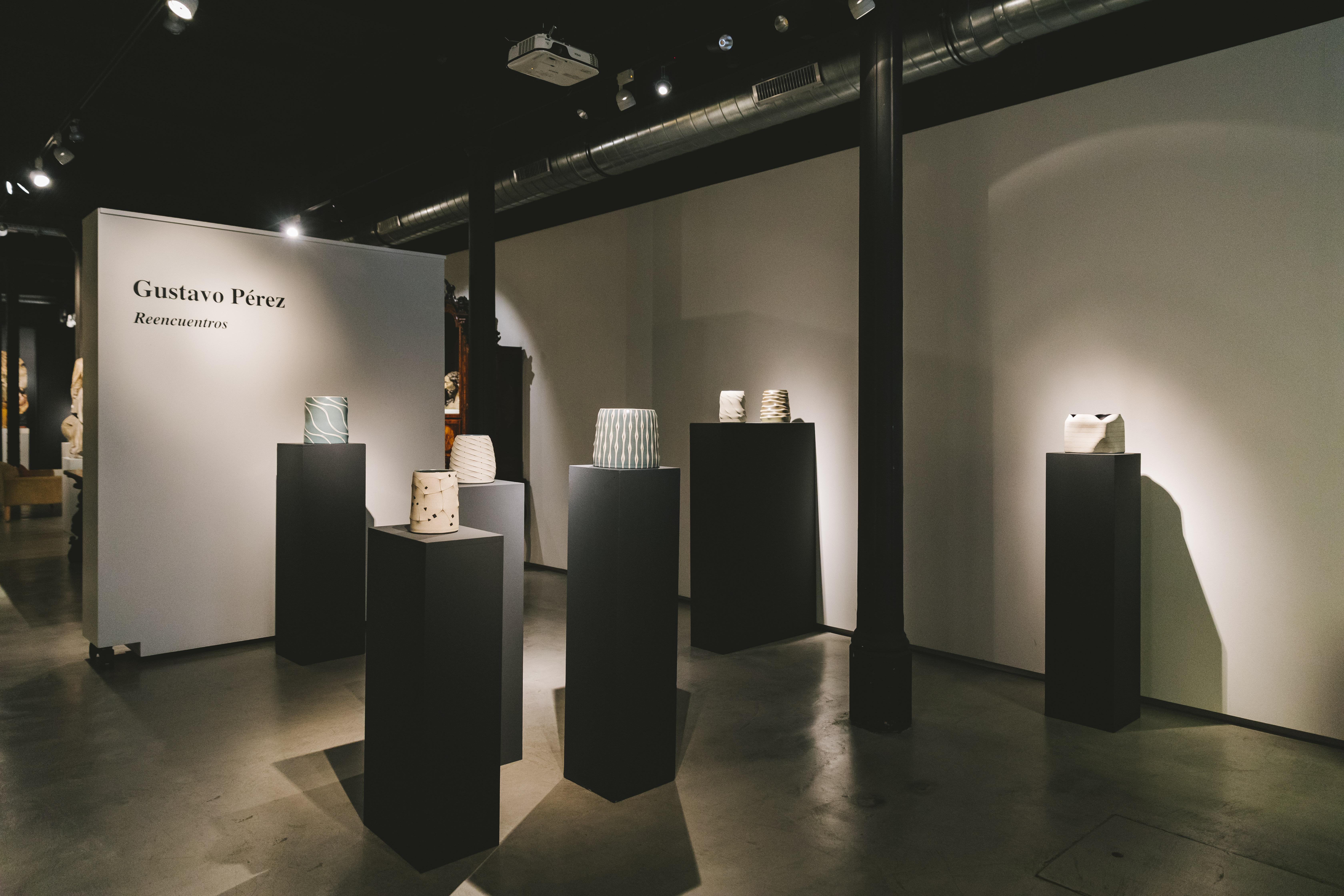 Gustavo Pérez. El llenguatge de la ceràmica contemporània.