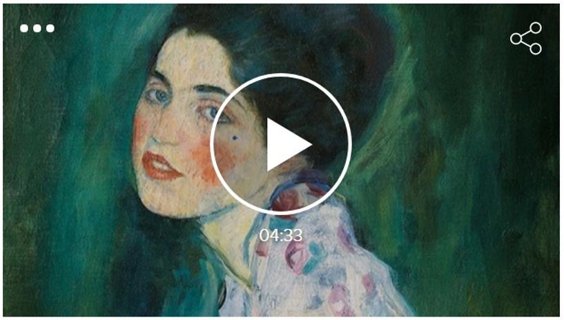 """Troben el """"Retrat d'una dama"""" de Gustav Klimt"""