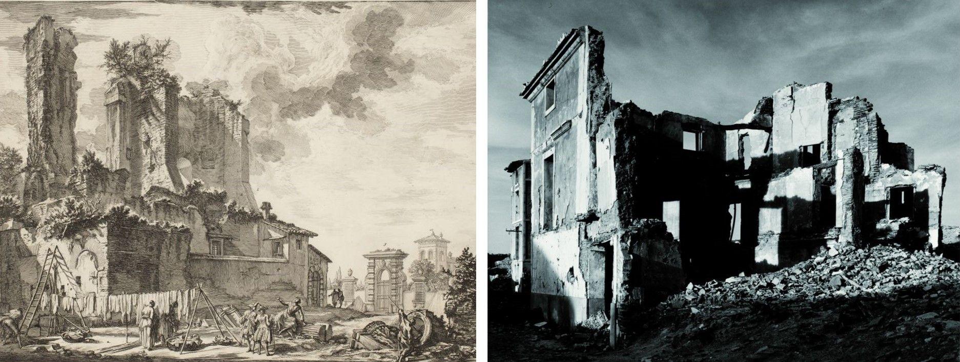 El gravat de Piranesi i la fotografia d'Humberto Rivas a Artur Ramon Art