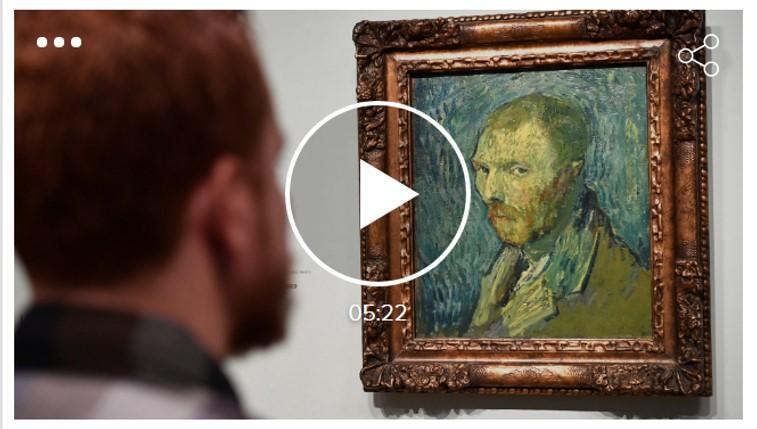 SECCIÓ Artur Ramon. Autoretrat de Van Gogh en plena psicòsi