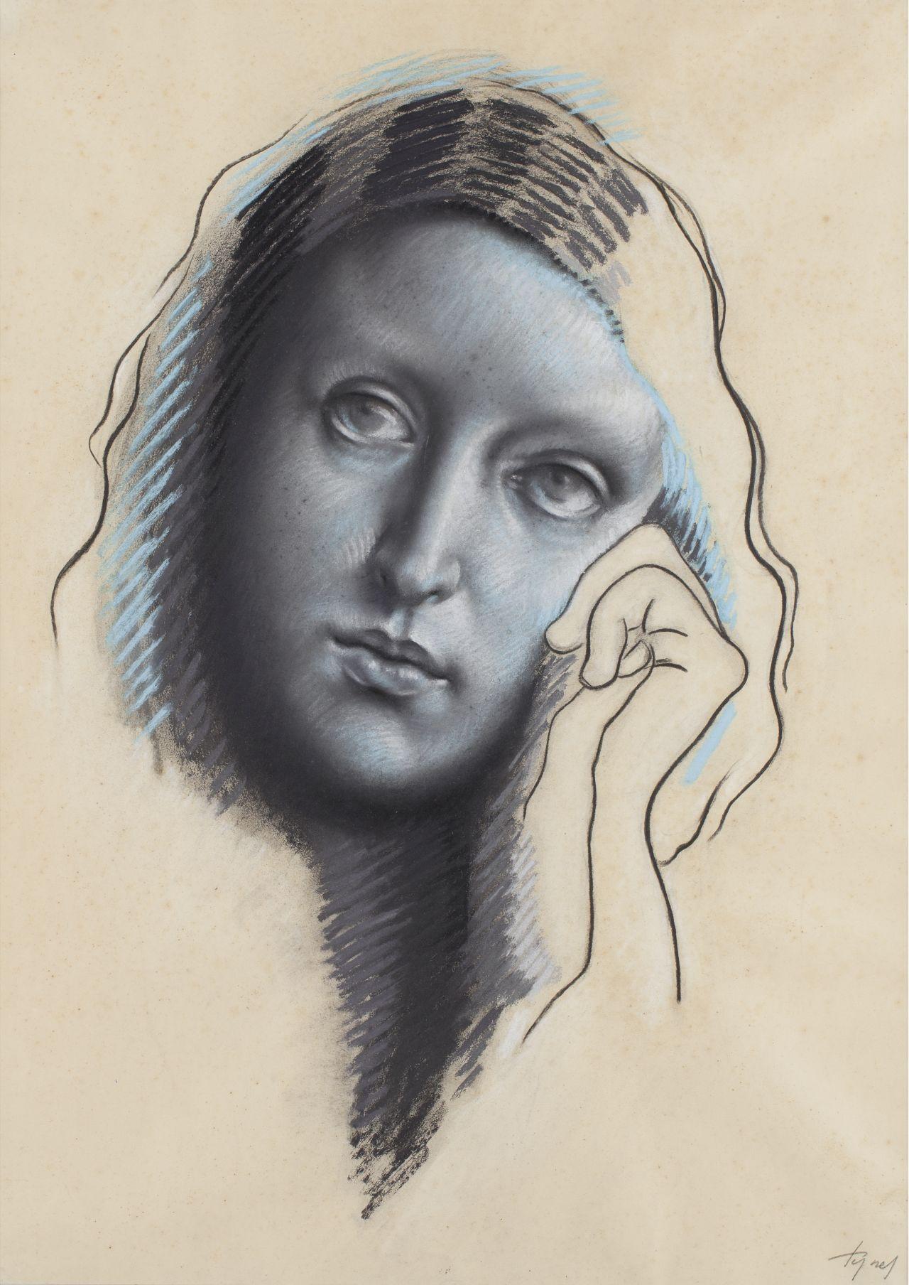Retrato femenino, Josep de Togores