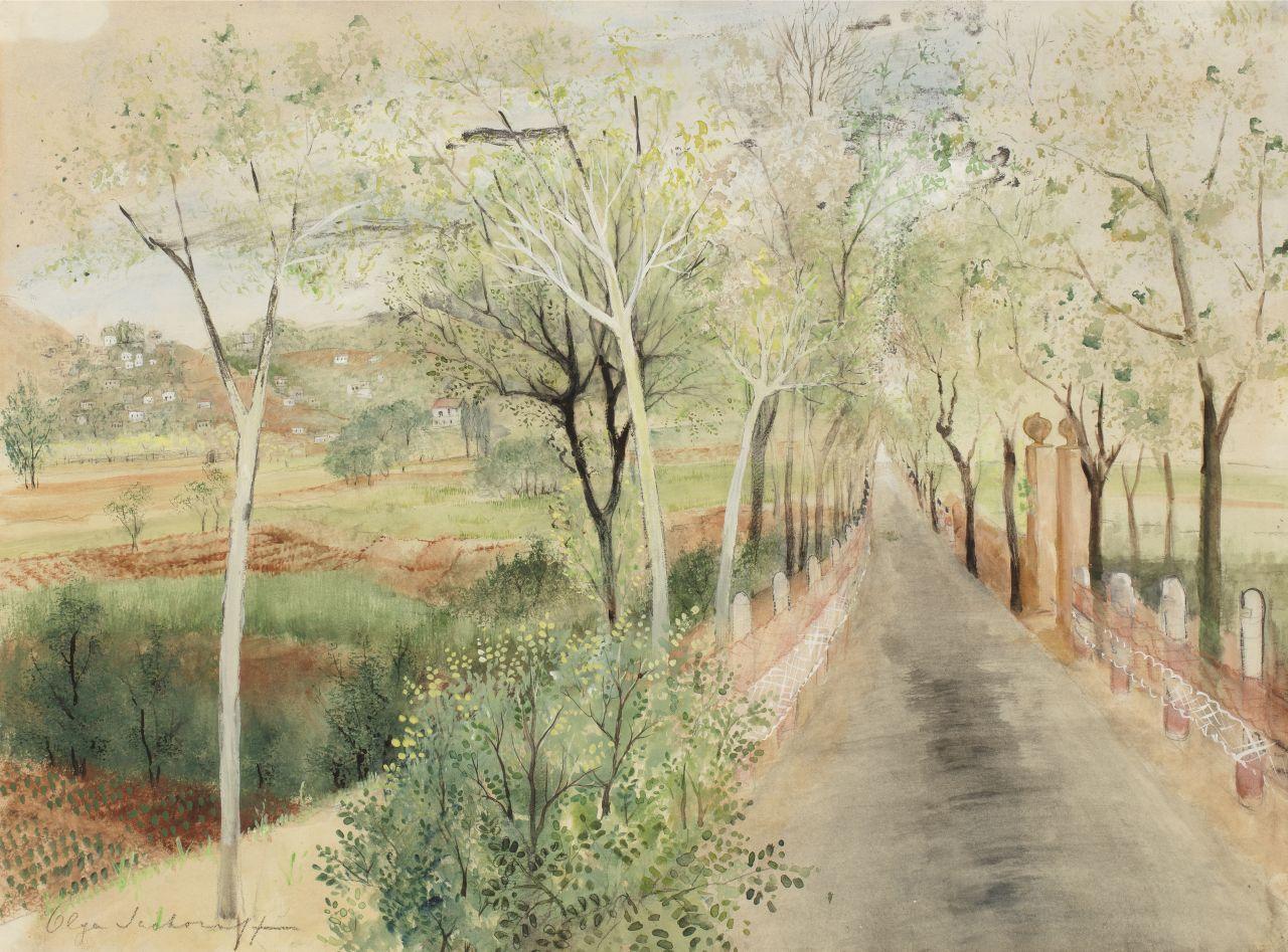Olga-Sacharoff-Landscape