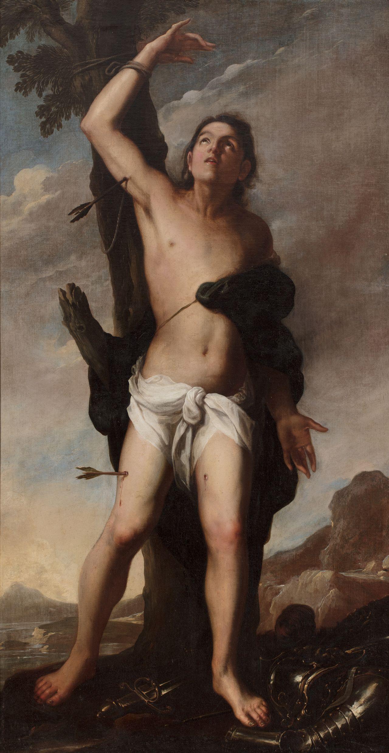 Saint Sebastian, Juan de Sevilla Romero