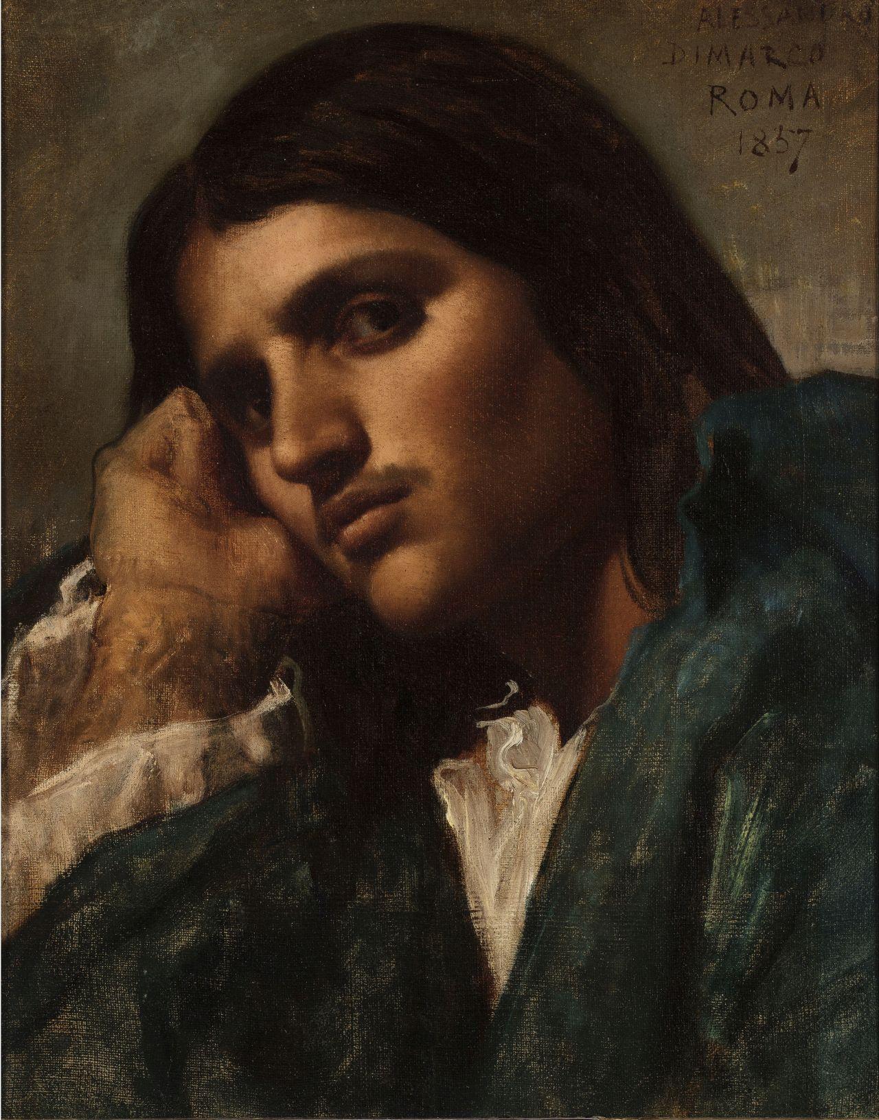 Portrait of Alessandro di Marco, Eduardo Rosales