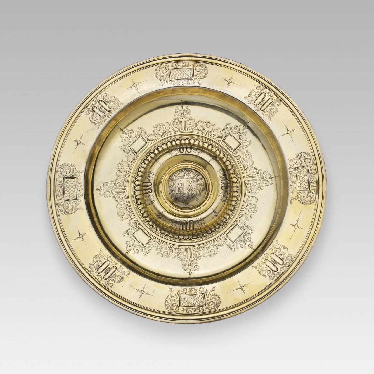 Circular plate, Castile