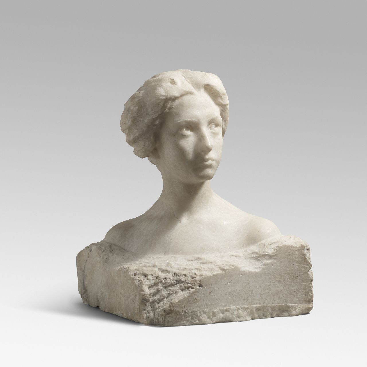 Bust of a young woman, Eusebi Arnau