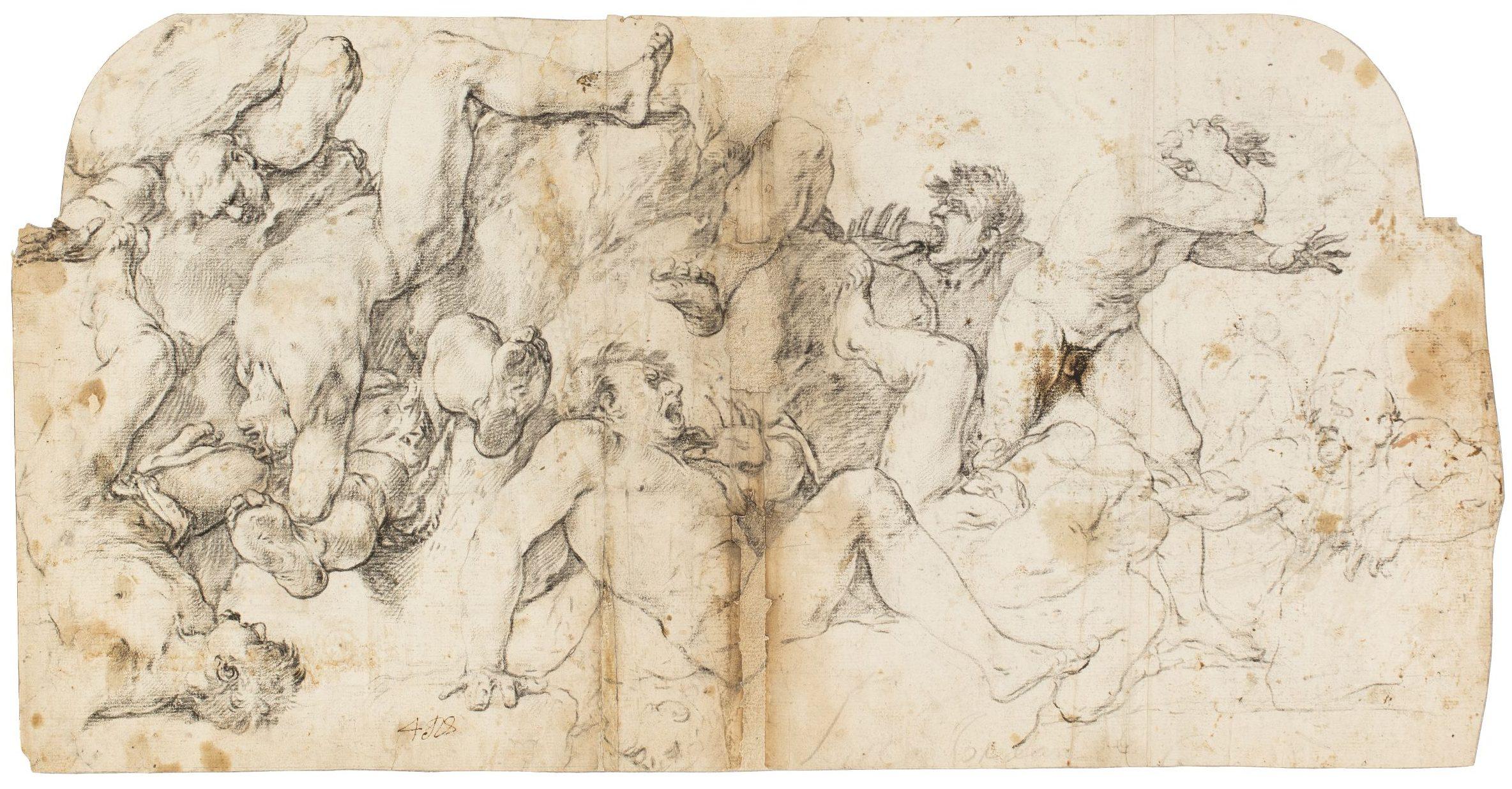 La caiguda dels gegants, Luca Giordano