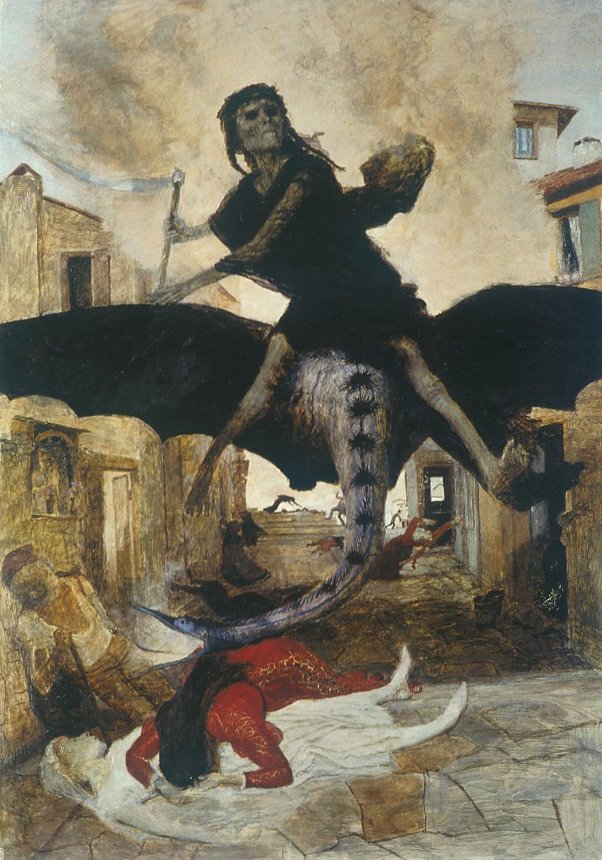 Avui parlem de 'La Peste', obra d'Arnold Böcklin, exposada al Museu de Basilea
