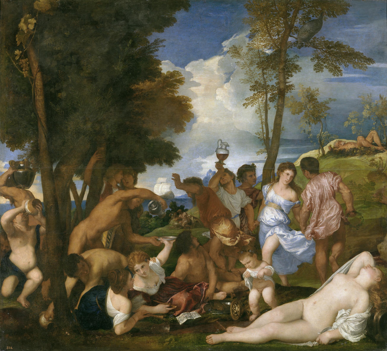 Quadres per l'esperança: 'La bacanal de los andrinos' de Tiziano
