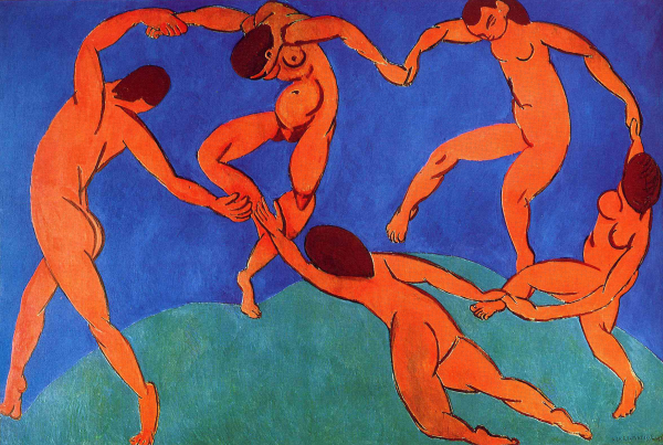 Un quadre per l'alegria, 'La dansa', d'Henri Matisse