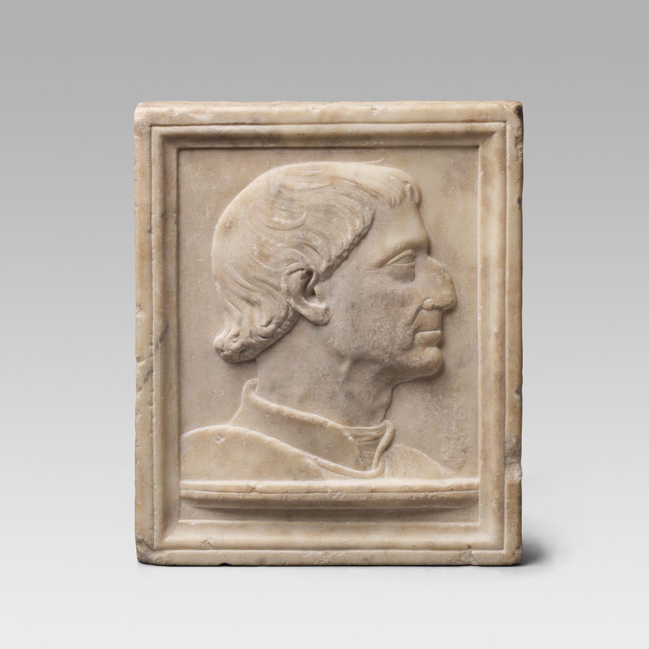 Retrat del rei Alfons IV el Magnànim, Atribuit a Isaia Ganti da Pisa