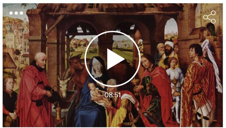 Artur Ramon: El 'Tríptic de l'altar de Santa Columba' de Rogier van der Weyden es posa de moda a Twitter
