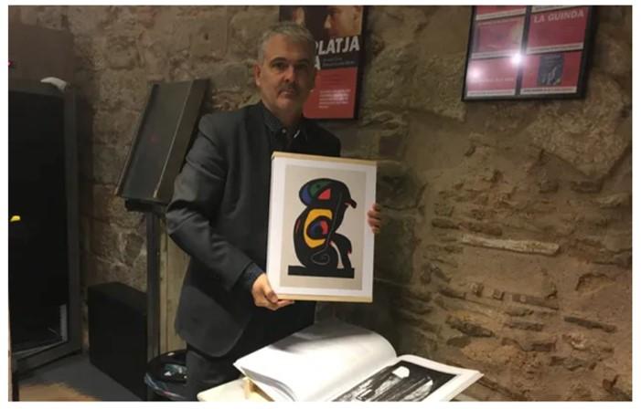 Artur Ramon: «Que el grabado sea visto como un arte menor es algo que solamente pasa aquí»