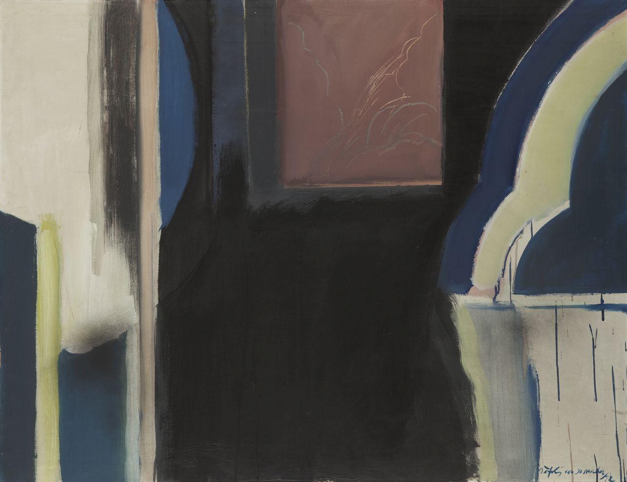 Albert Ràfols-Casamada – Finestra central, Albert Ràfols-Casamada