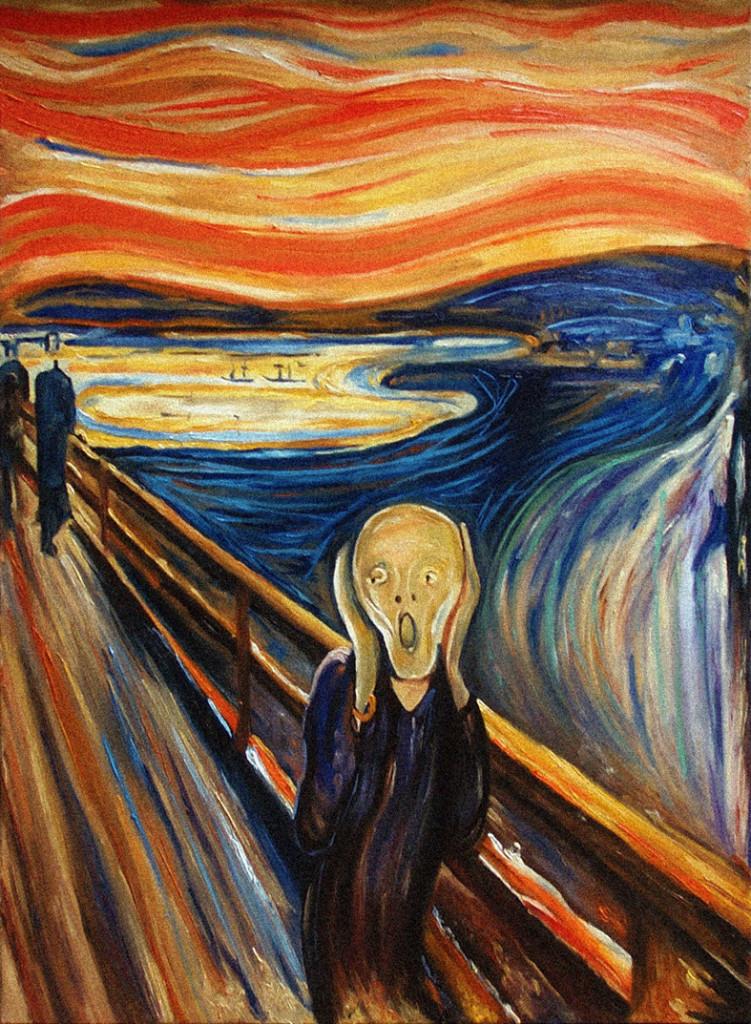 """La frase oculta a """"El crit"""" de Munch"""