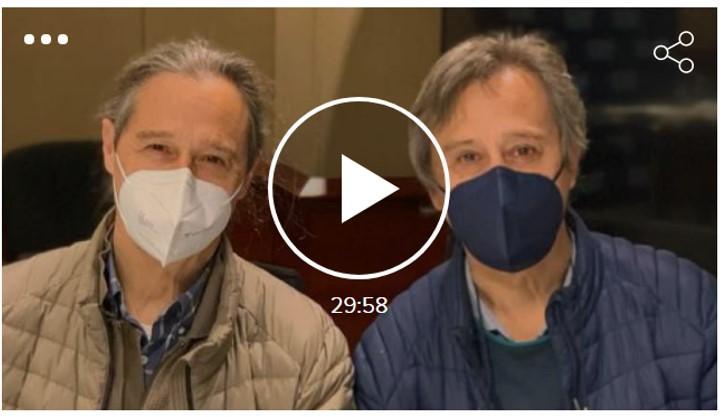 Artur Ramon amb Pere i Josep Santilari (germans bessons i pintors realistes)
