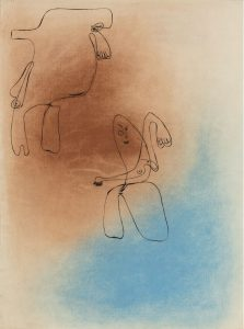 Joan-Miró-dibujo-1934