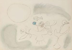 Joan-Miro-drawing-watercolour