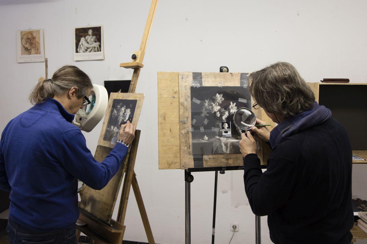 Josep y Pere Santilari: «El bodegón, en la pintura realista, ha de tener una función notarial»