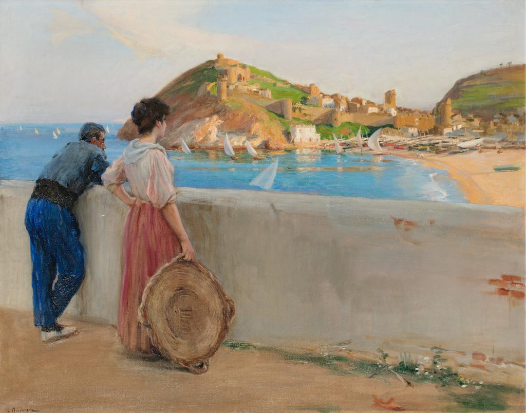 Laureà-Barrau-Tossa-Mar-pintura