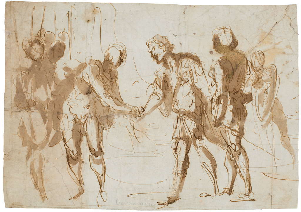 Giovanni-Battista-Castello-old-master-drawing